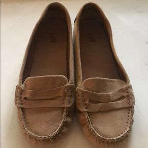 J. Jill Tan Suede Driving Moccasin